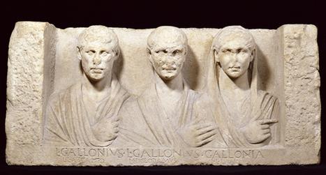 Funerary Relief of three former slaves | L'actu culturelle | Scoop.it