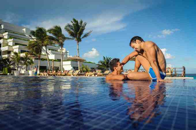 A gay-friendly getaway in the Mexican Caribbean