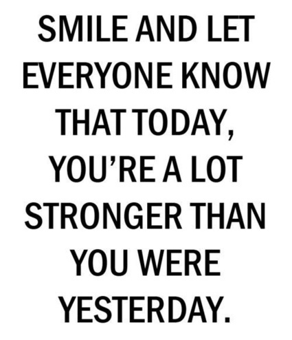 Smile And Let Everyone Know That Today Yoursq