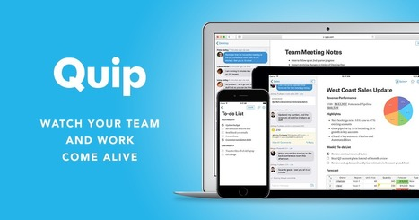 Quip   Web 2.0 Tools in the EFL Classroom   Scoop.it