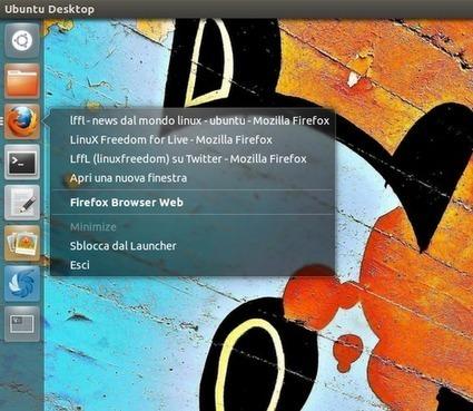 Ubuntu Unity: elenco delle finestre attive per ogni applicazione direttamente dalla Quicklist | Ubuntu Express | Scoop.it