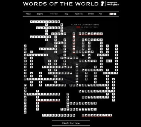 Words of the World, el origen y la historia de las palabras.- | language | Scoop.it