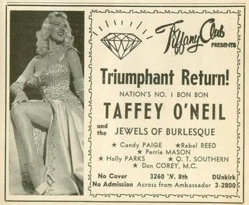 Vintage Burlesque & Girlie Show Ads – Silent Porn Star | Sex History | Scoop.it