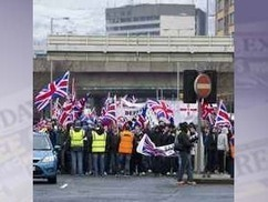 Man held over flag protest comments | The Indigenous Uprising of the British Isles | Scoop.it