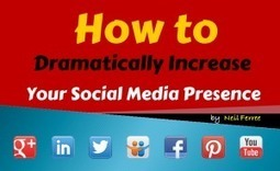 How to Increase Your Social Media Presence | Backlinks for your Blog | Scoop.it