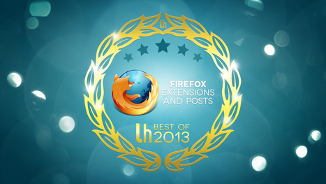 Most Popular Firefox Extensions and Posts of 2013 | Cibereducação | Scoop.it