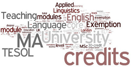 Exemptions and credits to DELTA holders on related MA level courses | Empowering e-Teachers | Scoop.it