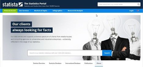 Statista - The Statistics Portal | hobbitlibrarianscoops | Scoop.it