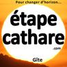 Gîte de vacances l' étape cathare sous Peyrepertuse en Aude  Pays cathare