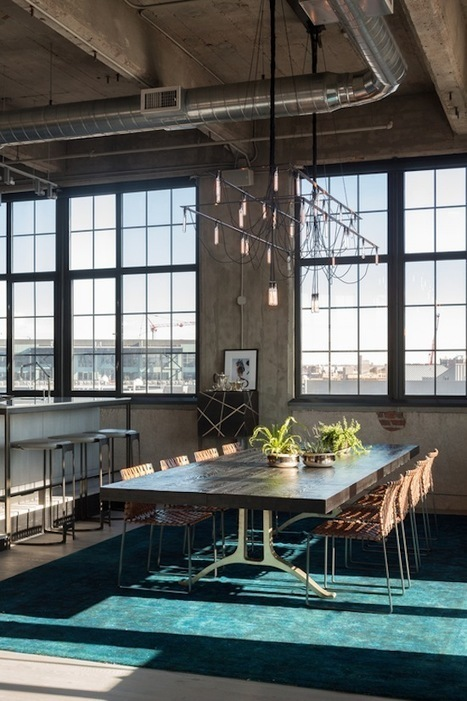 Stunning Industrial Loft in a Renovated Former Flour Mill… Perfection! | Raw and Real Interior Design | Scoop.it