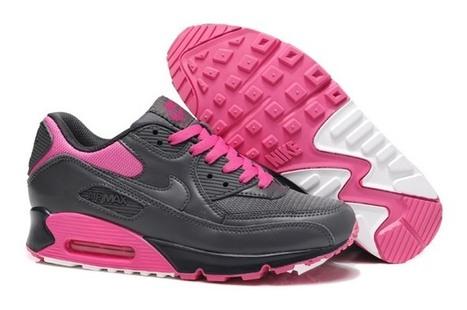 free shipping ad0d0 bfbc0 Skor-Pa-Natet-Dam-Nike-Air-Max-90-Kvinnor-Skor-Pa-Natet-Ny-Darj-Gra-Rosa.jpg  (697x463 pixels)