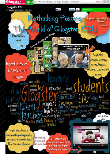 Web 2.0 Interactive Posters for Lessons   Anything and Everything Education   Scoop.it