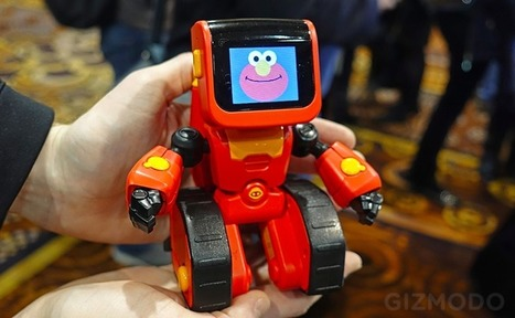 Cyborg Elmo Wants to Teach Kids to Code, Not Exterminate Humanity | iPhones and iThings | Scoop.it
