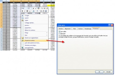 Comment protéger les cellules Excel   Time to Learn   Scoop.it