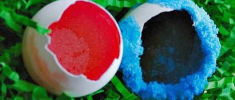 Eggshell Geode Crystals : Science Bob's Science Experiment Blog | Semiotic Adventures with Genetic Algorithms | Scoop.it