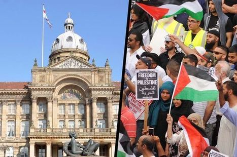 Silent protest in Birmingham as city council refuses to fly Palestinian flag | Syria Will be Free | Scoop.it