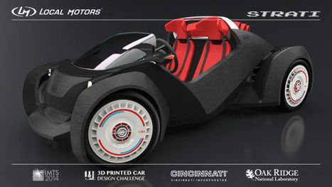 This 3D-Printed Car Will Be Drivable By The Weekend, For Sale Soon After | 4D Pipeline - trends & breaking news in Visualization, Virtual Reality, Augmented Reality, 3D, Mobile, and CAD. | Scoop.it