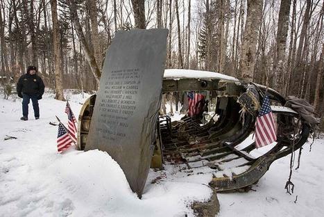 24 janvier 1963 : un B52-C  Stratofortress avec 9 membre d'équipage et 2 bombes nucléaires (non armées) s'écrase sur Elephant Mountain dans le Maine (États-Unis) | Que s'est il passé en 1963 ? | Scoop.it