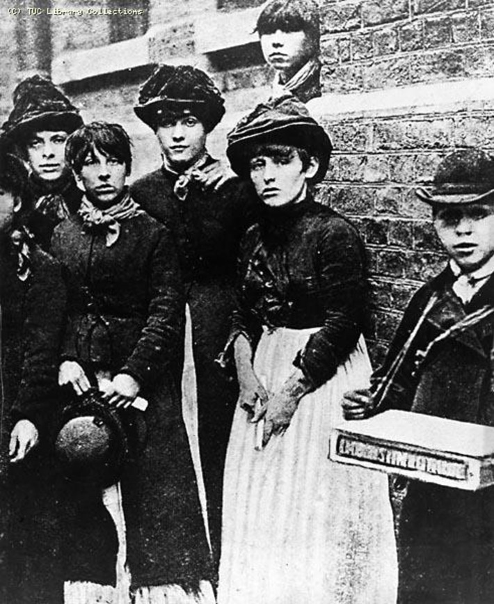 Match Workers at the Bryant and May Factory, London, 1888 | Herstory | Scoop.it