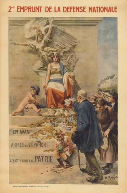 Les archives du Comité de l'or et de l'emprunt de la défense nationale de Loire-Inférieure - [Archives départementales deLA] | Histoire 2 guerres | Scoop.it