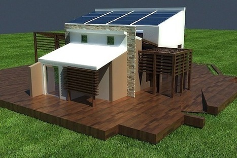 Going Off The Grid In Egypt with the Solar House | Green Prophet | Green Eco energy cyprus | Scoop.it