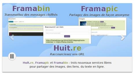 Framasoft : trois nouveaux services libres pour partager des images, des liens, du texte en ligne - Framasoft | Cura | Scoop.it