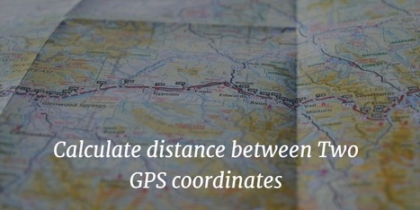How To Calculate Distance Between Two GPS Coord