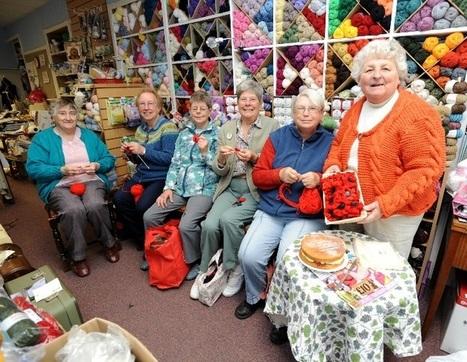 Knit and Knatter group raising money for Poppy Appeal | Fiber Arts | Scoop.it