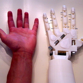 DIY Prosthetic Hand  & Forearm (Voice Controlled) | Arduino in the Classroom | Scoop.it