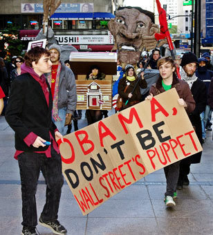 What Occupiers Learned From Obama - and What He Should Learn From Them | #OccupyWallstreet | Scoop.it