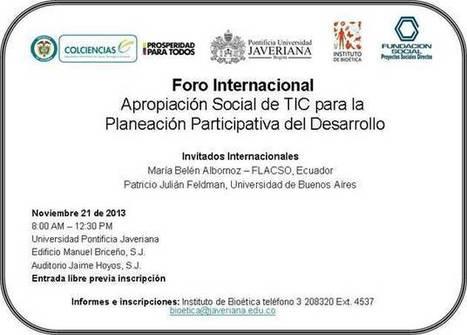 Apropiación Social de TIC para la planeación participativa del desarrollo | Diálogos sobre Gobierno Abierto | Scoop.it