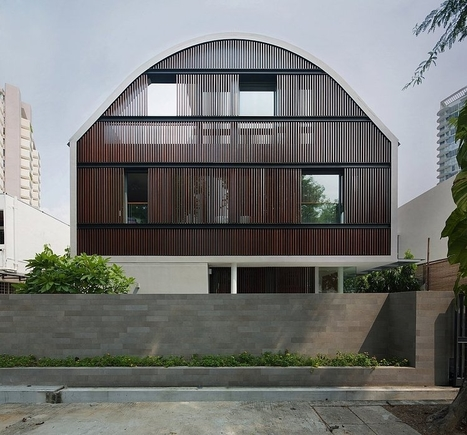 Wind Vault House by Wallflower Architecture + Design   sustainable architecture   Scoop.it