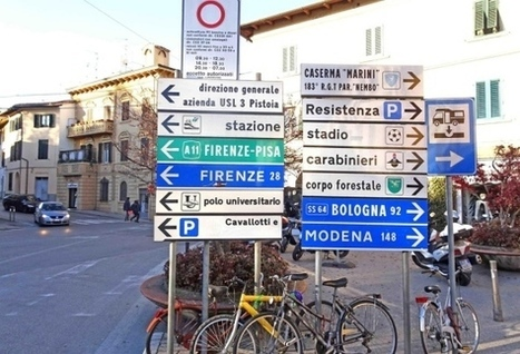 Nella capitale della cultura bocciati i cartelli turistici  - Cronaca - il Tirreno | Accoglienza turistica | Scoop.it