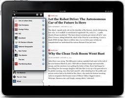New iPad app aggregates only long-form journalism | A propos de l'avenir de la presse | Scoop.it