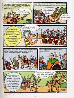 L'Histoire de France en BD : Vercingétorix et les Gaulois | | Le journal du FLE des PUG | Scoop.it