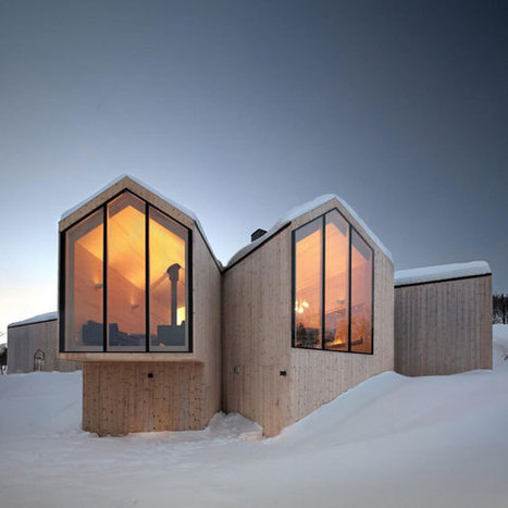 Reiulf Ramstad Arkitekter : Split View Mountain Lodge | What Surrounds You | Scoop.it