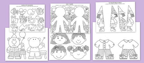 Fichas para mejorar la atención en los niños.Primera parte | recursos para primaria e infantil | Scoop.it