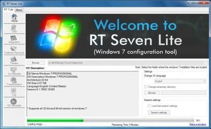 RT Se7en Lite, créer des disques personnalisés d'installation de Windows 7 | Time to Learn | Scoop.it
