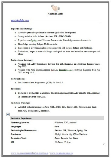 over 10000 cv and resume samples with free download best engineer resume format download