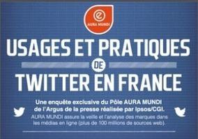 Usages et pratiques du réseau social Twitter en France   La veille de generation en action sur la communication et le web 2.0   Scoop.it