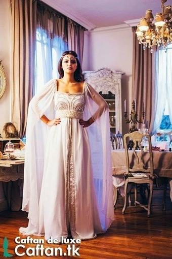 robe de mariée blanche\' in Caftan 2014 | Scoop.it