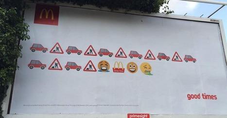 British graffiti artist pranks McDonald's emoji billboard | Psychology of Consumer Behaviour | Scoop.it