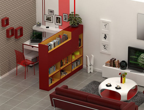 am nager un coin bureau fonctionnel au s. Black Bedroom Furniture Sets. Home Design Ideas