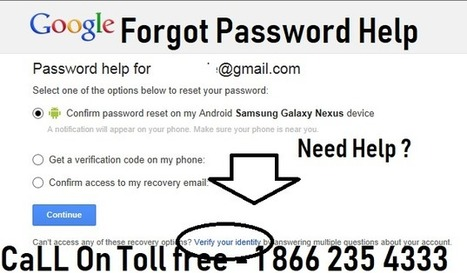 forgot google password and recovery email