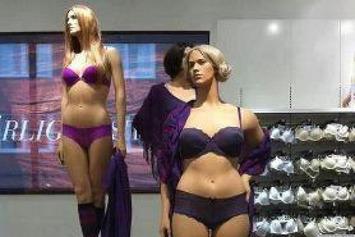 PHOTO: Retailer's Full-Figured Mannequins In Lingerie Go Viral | Walking On Sunshine | Scoop.it
