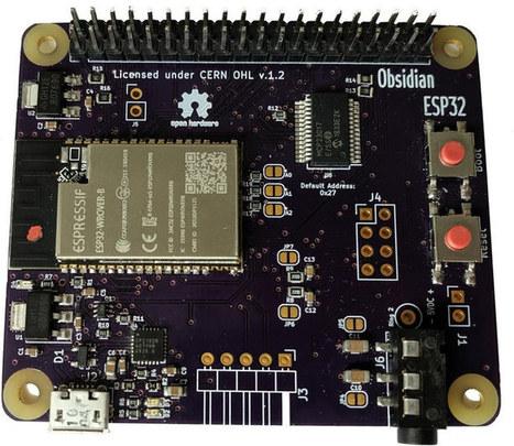 Obsidian ESP32 Board Follows Raspberry Pi Model