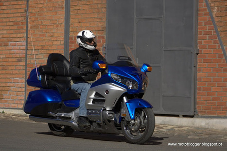 MOTOBLOGGER: Honda GL1800 Goldwing | Rogermotard | Scoop.it