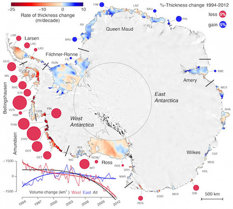 Antarctica's Ice Shelves Thin, Threaten Significant Sea Level Rise | Science and Nature | Scoop.it