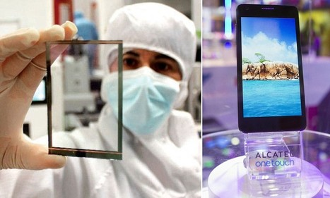 Solar-powered screens mean phones never run out of battery | Floqr Mobile News | Scoop.it