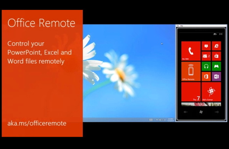 Office Remote lets you control Word, Excel, and PowerPoint with a Windows Phone | Elementary Technology Education | Scoop.it